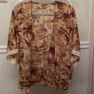 Open front shirt